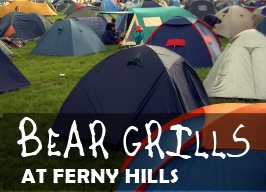 Bear Grills at Ferny Hills - November 16