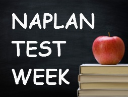 Naplan testing week - May 12 to 16